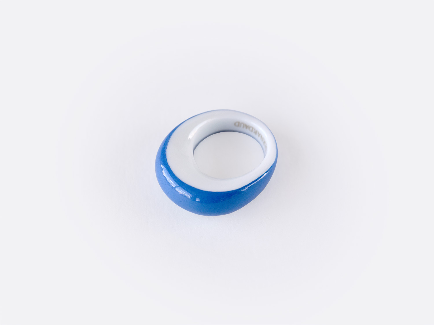 China Alba bleu Ring of the collection ALBA BLEU | Bernardaud