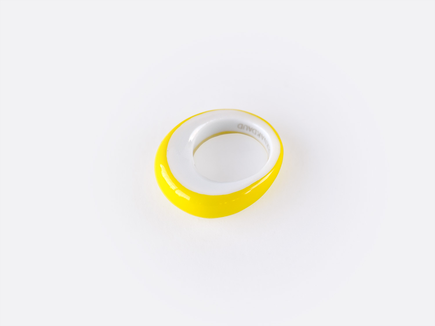 China Alba jaune Ring of the collection ALBA JAUNE | Bernardaud