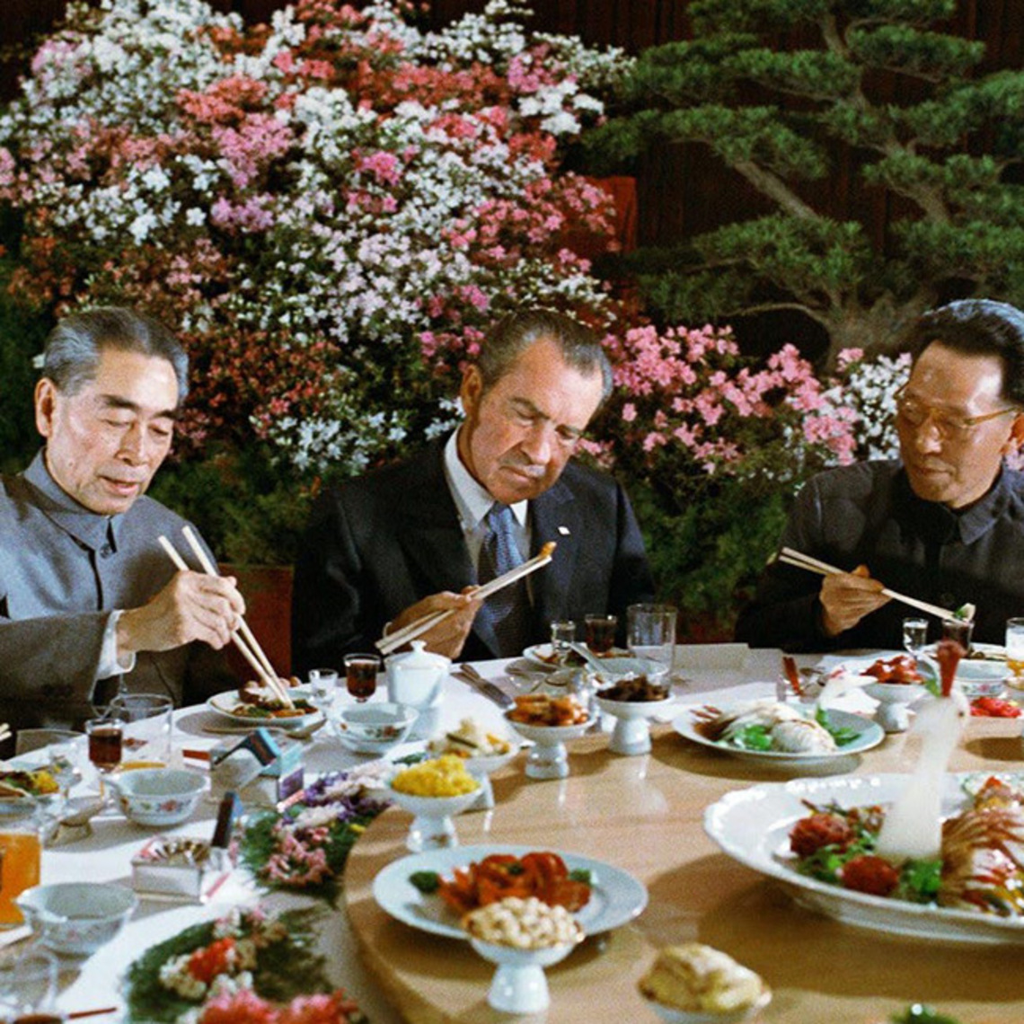 Nixon welcome dinner in china