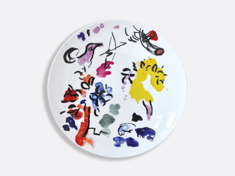 Vitrauxhadassah27 assiette blanche2 marcchagall %c2%a9 adagp  paris  2020   chagall