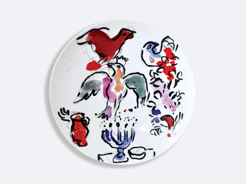 Vitrauxhadassah assiette27 blanche marcchagall %c2%a9 adagp  paris  2020   chagall