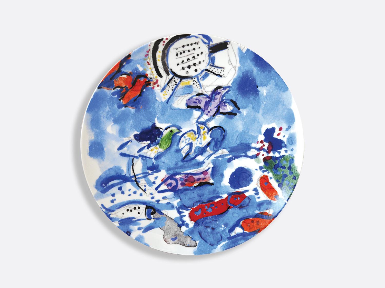 Vitrauxhadassah assiette21 bleu poissons marcchagall %c2%a9 adagp  paris  2020   chagall