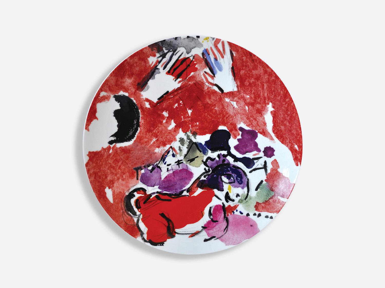 Vitrauxhadassah assiette21 rouge mains marcchagall %c2%a9 adagp  paris  2020   chagall