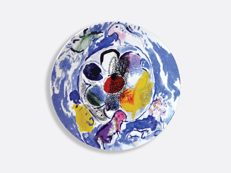 Vitrauxhadassah assiette21 bleu fleur marcchagall %c2%a9 adagp  paris  2020   chagall