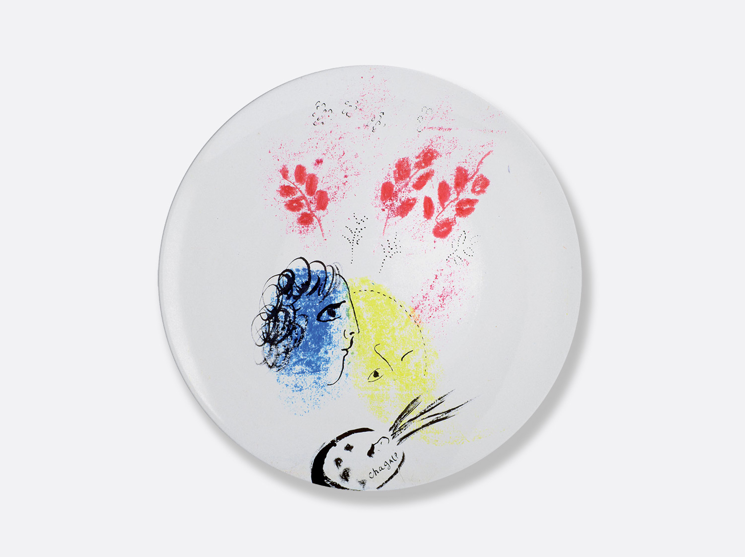 Collectionmarcchagall assiette26double %c2%a9 adagp  paris  2020   chagall