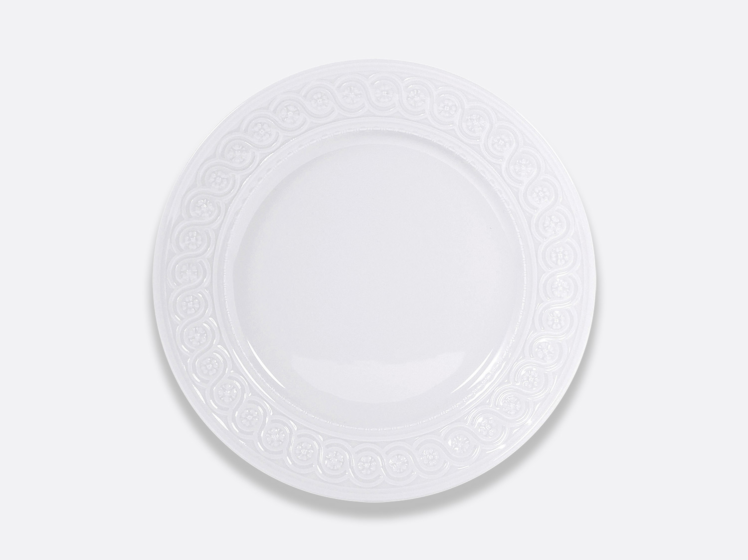 Assiette à dîner 26 cm en porcelaine de la collection Louvre Bernardaud