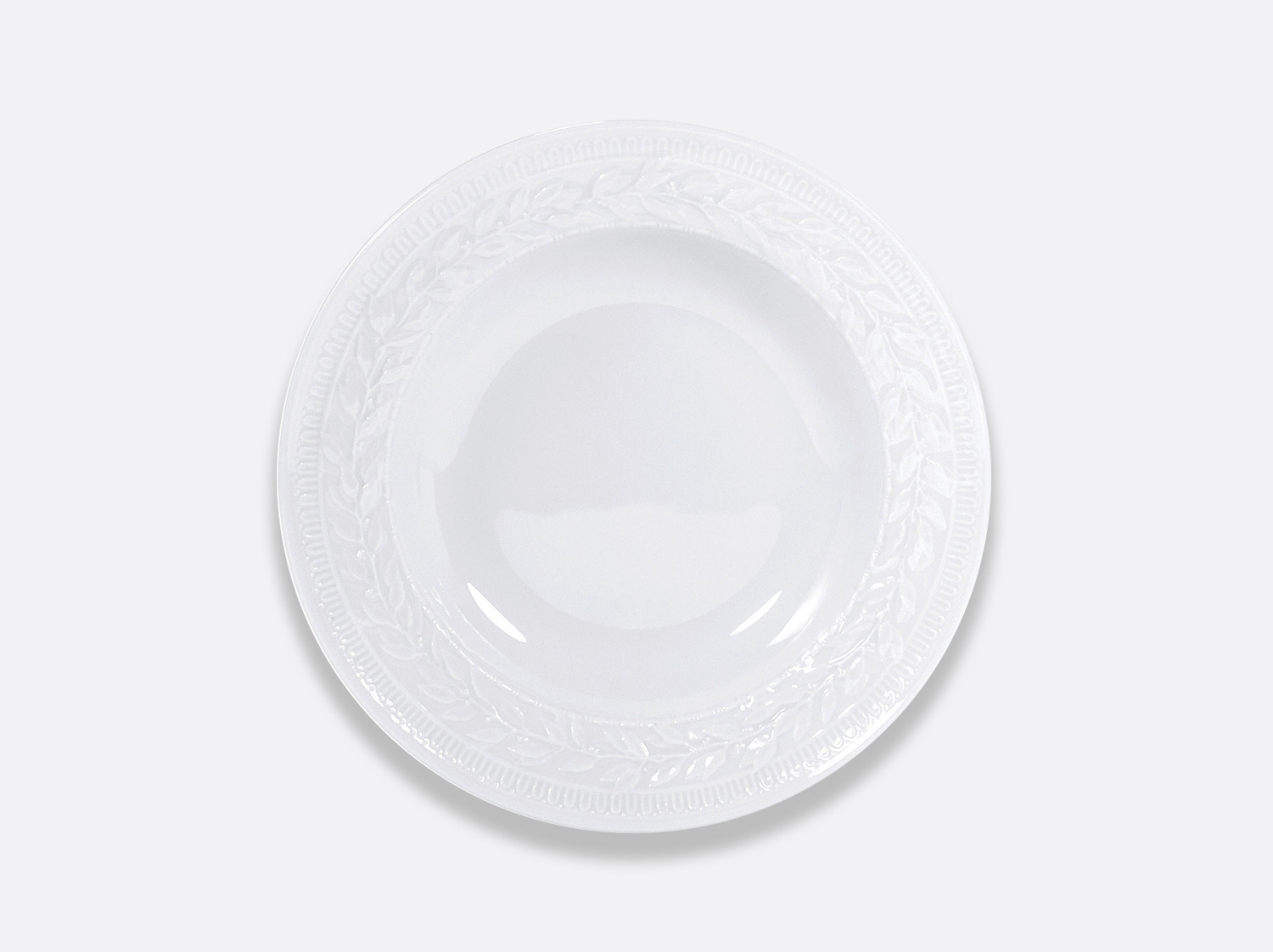 "China Rim soup 9"" of the collection Louvre 