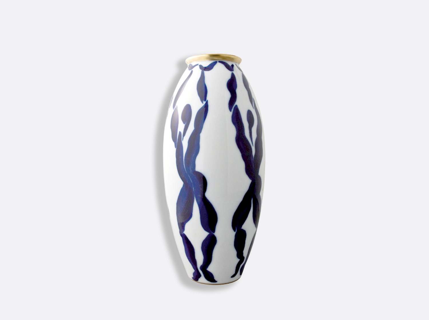 Vase Cariatides H.32 cm en porcelaine de la collection Bacchanale Bernardaud