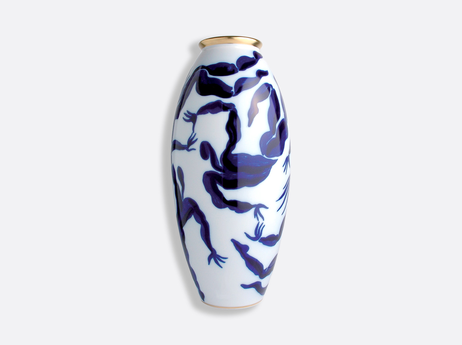 Vase Bacchanale H.42 cm en porcelaine de la collection Bacchanale Bernardaud