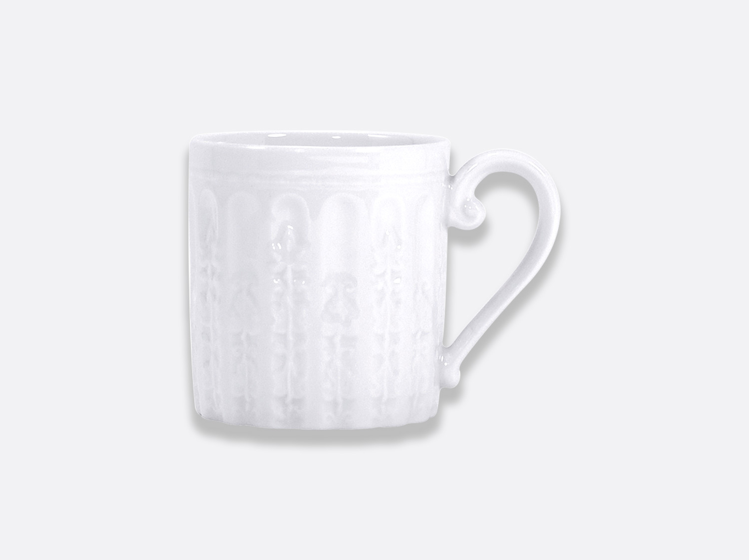 Mug 30 cl en porcelaine de la collection Louvre Bernardaud