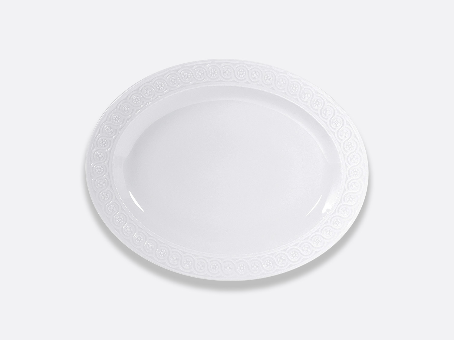 China Oval platter  38 cm of the collection Louvre | Bernardaud