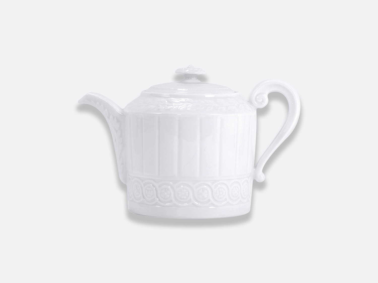 Théière 12 tasses 1 L en porcelaine de la collection Louvre Bernardaud
