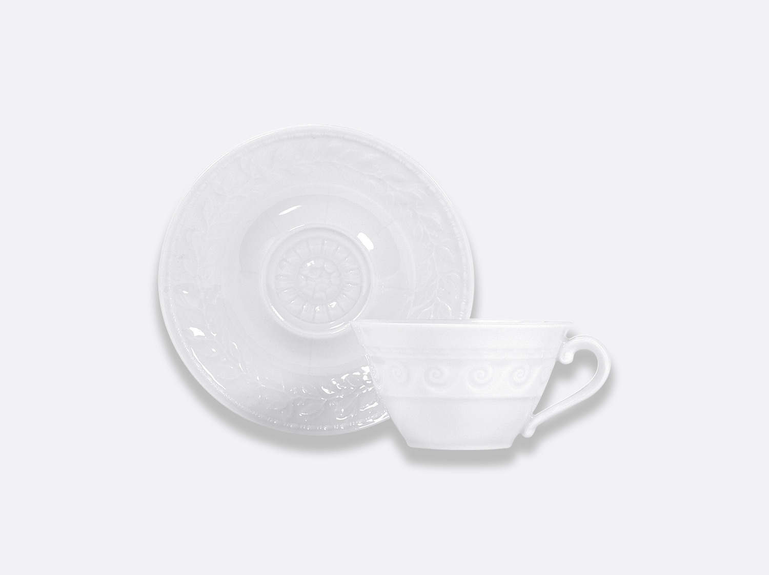 China Tea cup and saucer 15 cl of the collection Louvre | Bernardaud