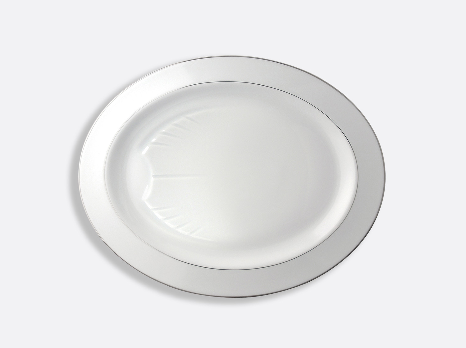 China Oval platter  43 cm of the collection Cristal | Bernardaud