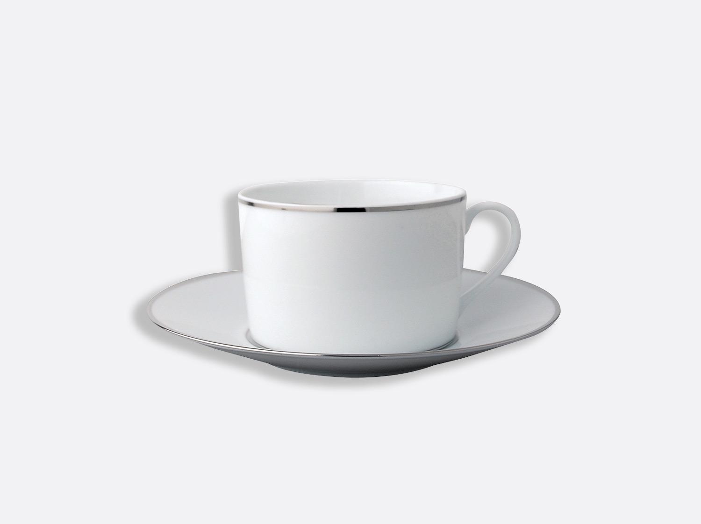 Tasse et soucoupe déjeuner 25 cl en porcelaine de la collection Cristal Bernardaud
