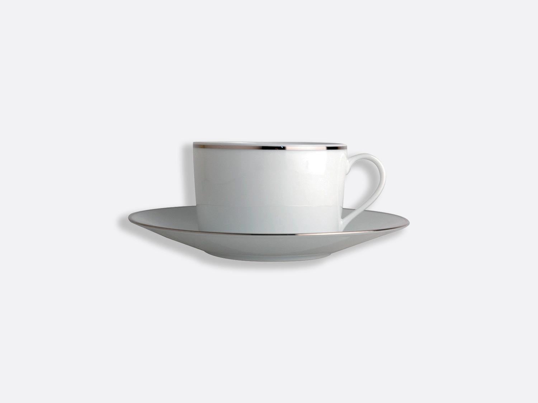 China Tea cup and saucer 15 cl of the collection Cristal   Bernardaud