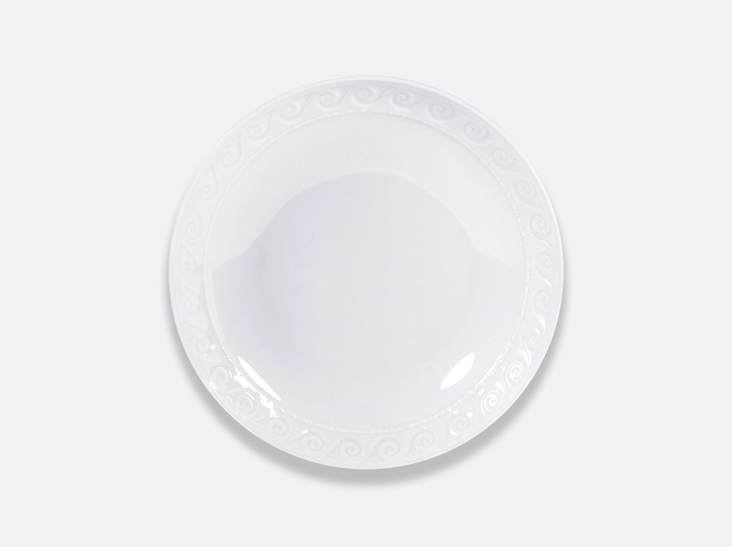Assiette à pâtes 23 cm en porcelaine de la collection Louvre Bernardaud
