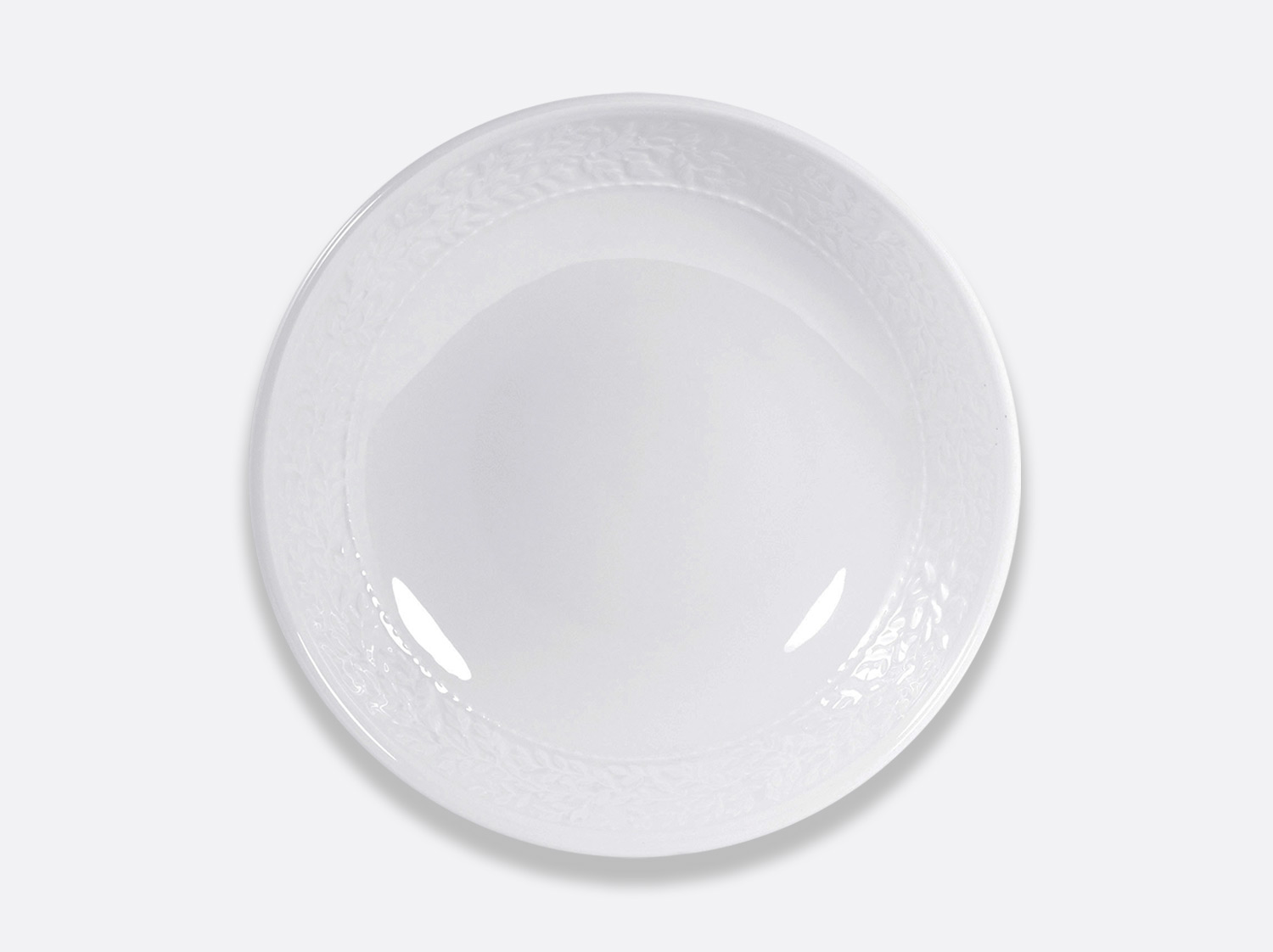Plat à pates 34 cm en porcelaine de la collection Louvre Bernardaud
