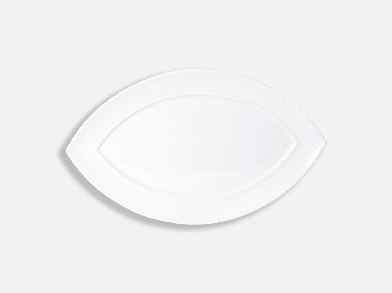 Assiette Zanzibar 35,5 cm en porcelaine de la collection Fusion Bernardaud