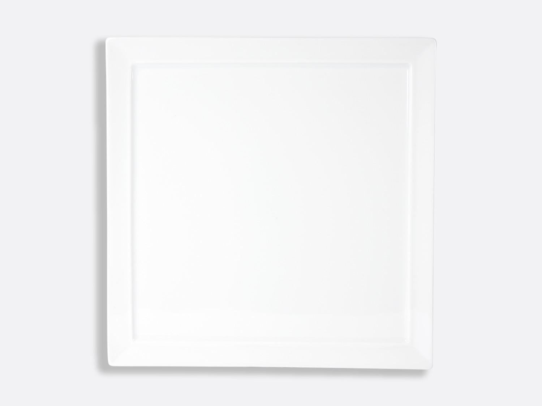 Assiette Tonga 29,5 x 29,5 cm en porcelaine de la collection Fusion Bernardaud