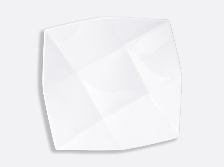 Coupe Cavanna 27 x 27 cm en porcelaine de la collection Fusion Bernardaud