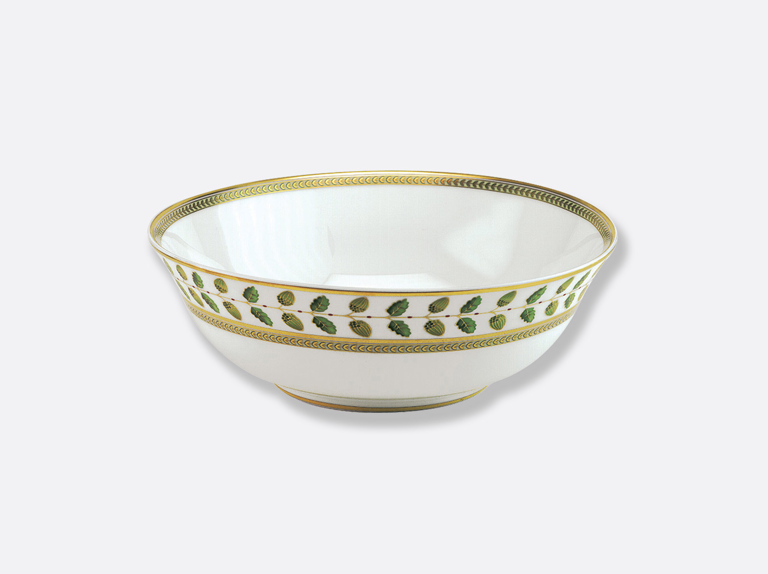 Saladier 25 cm 1,7 L en porcelaine de la collection Constance Bernardaud