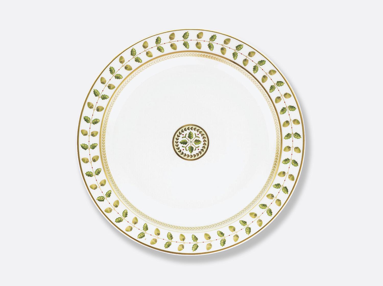 Plat rond creux 29 cm en porcelaine de la collection Constance Bernardaud