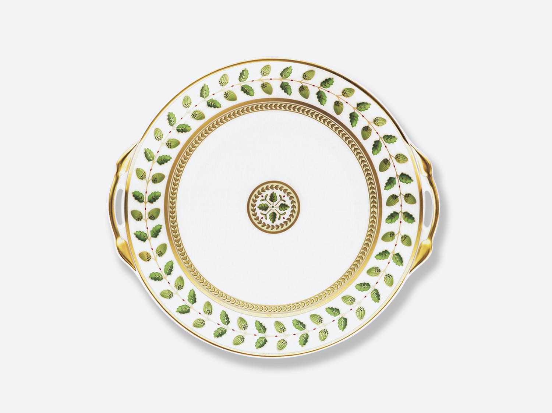 Plat à gateaux 27 cm en porcelaine de la collection Constance Bernardaud