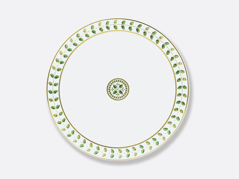 Plat à tarte 32 cm en porcelaine de la collection Constance Bernardaud