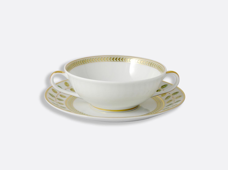 Bol et soucoupe à bouillon 15 cl en porcelaine de la collection Constance Bernardaud