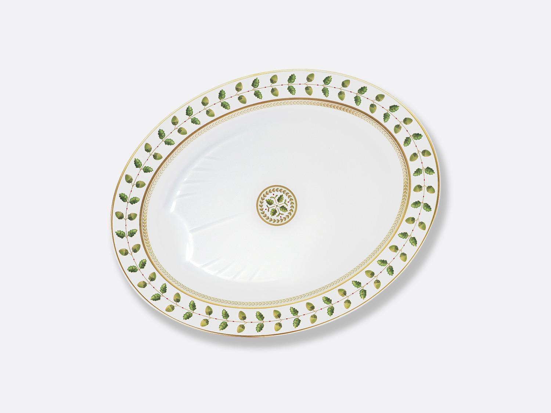 Plat ovale 43 cm en porcelaine de la collection Constance Bernardaud