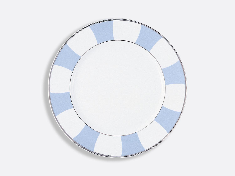 Assiette à dîner 26 cm en porcelaine de la collection Galerie royale bleu wallis Bernardaud