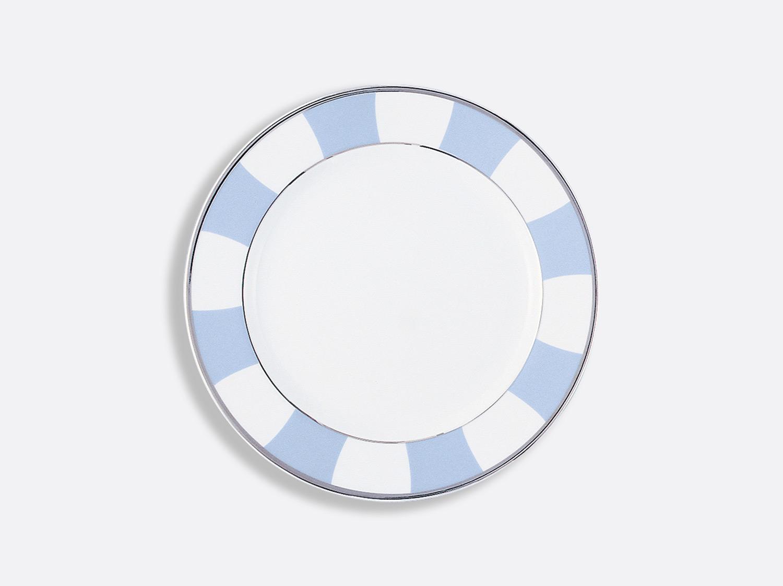 Assiette à dessert 21 cm en porcelaine de la collection Galerie royale bleu wallis Bernardaud