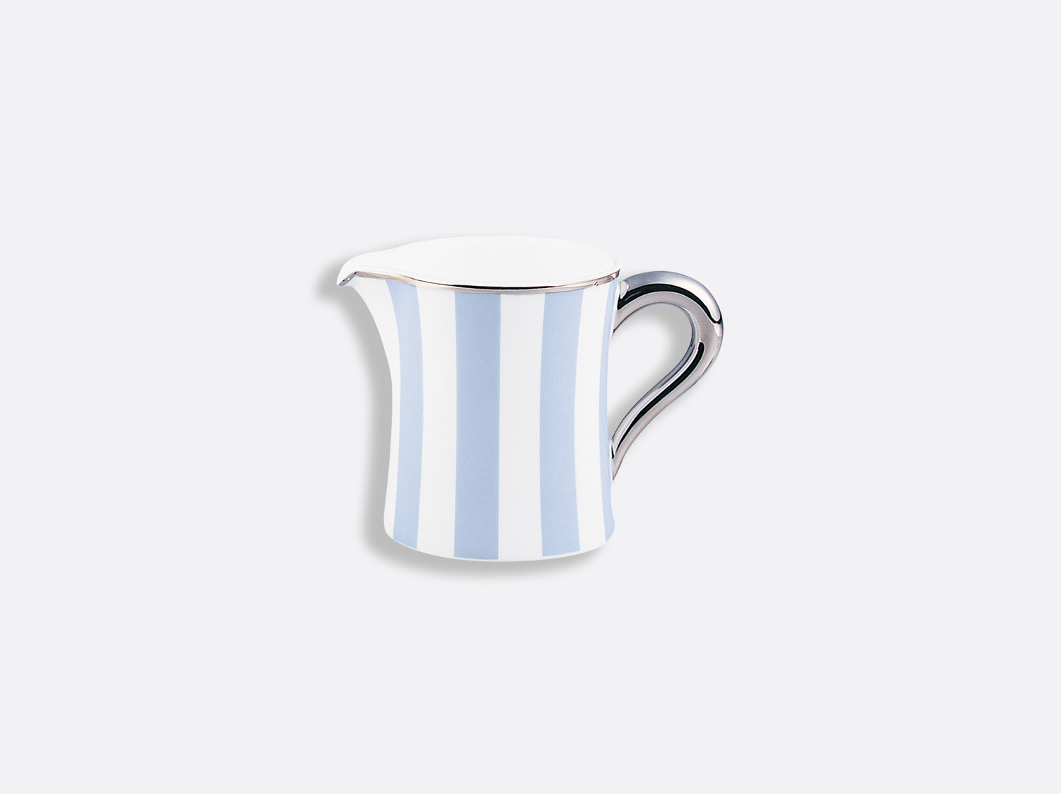 China Creamer 6 cups (galerie shape) 10 cl of the collection Galerie royale blue wallis | Bernardaud