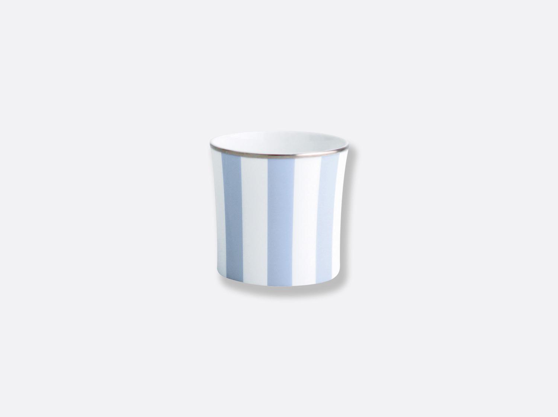 Pot à sucre 8 cl en porcelaine de la collection Galerie royale bleu wallis Bernardaud