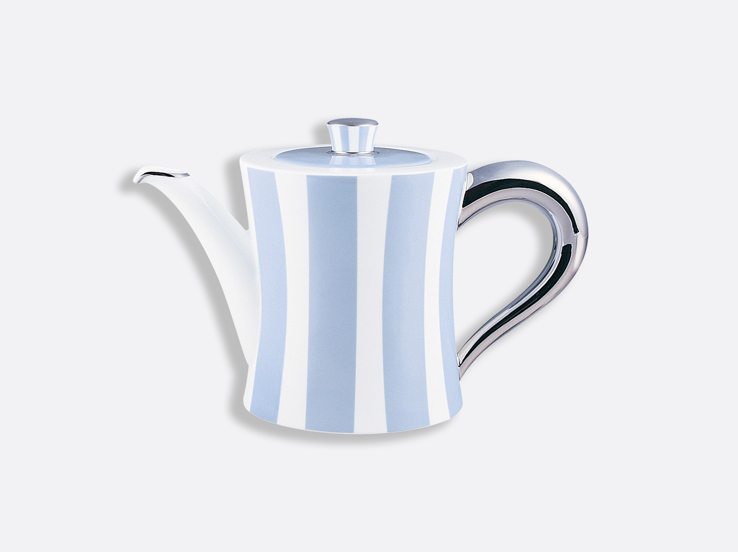 China Tea / coffee pot 12 cups 1 l of the collection Galerie royale blue wallis | Bernardaud