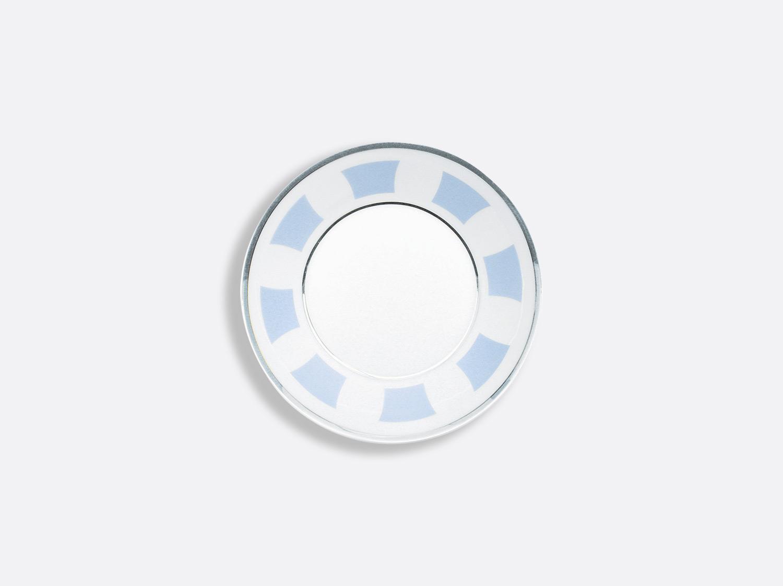 Coupelle macaron en porcelaine de la collection Galerie royale bleu wallis Bernardaud