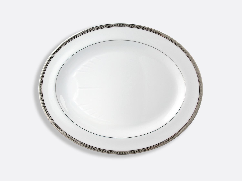 China Oval platter  43 cm of the collection Athéna platinum | Bernardaud