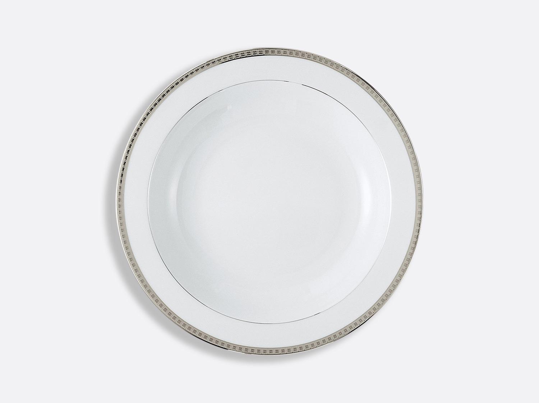 China Deep round dish 29 cm of the collection Athéna platinum | Bernardaud