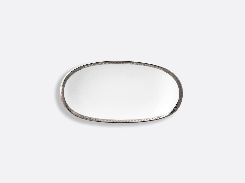 China Relish dish 23 cm x 12 cm of the collection Athéna platinum | Bernardaud