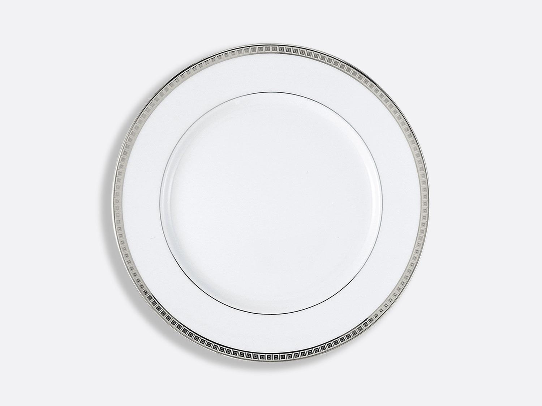 China Dinner plate 26 cm of the collection Athéna platinum | Bernardaud