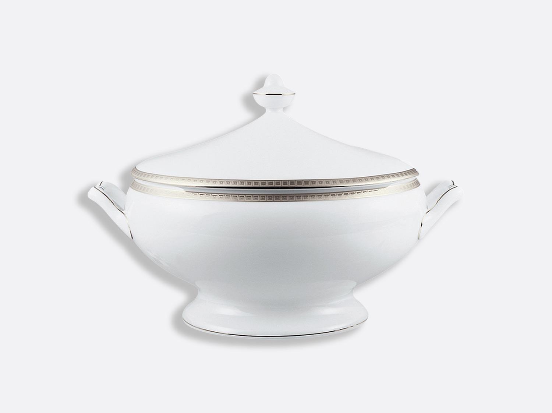 China Soup tureen 2 l of the collection Athéna platinum | Bernardaud