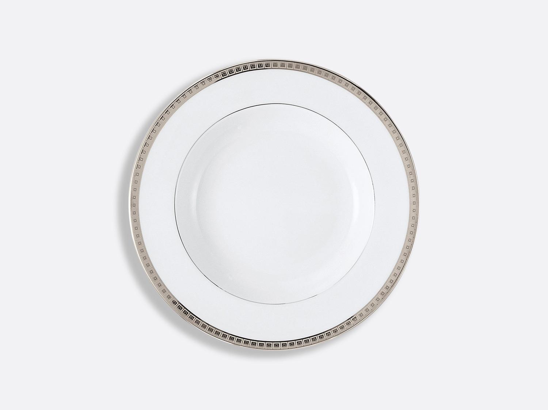 China Rim soup 22,5 cm of the collection Athéna platinum | Bernardaud