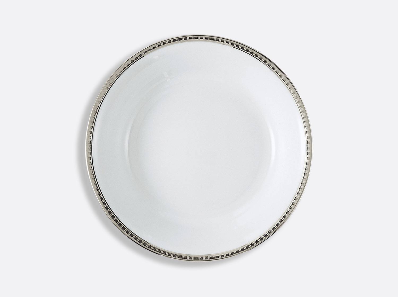 Compotier creux 24,5 cm 80 cl en porcelaine de la collection Athéna platine Bernardaud