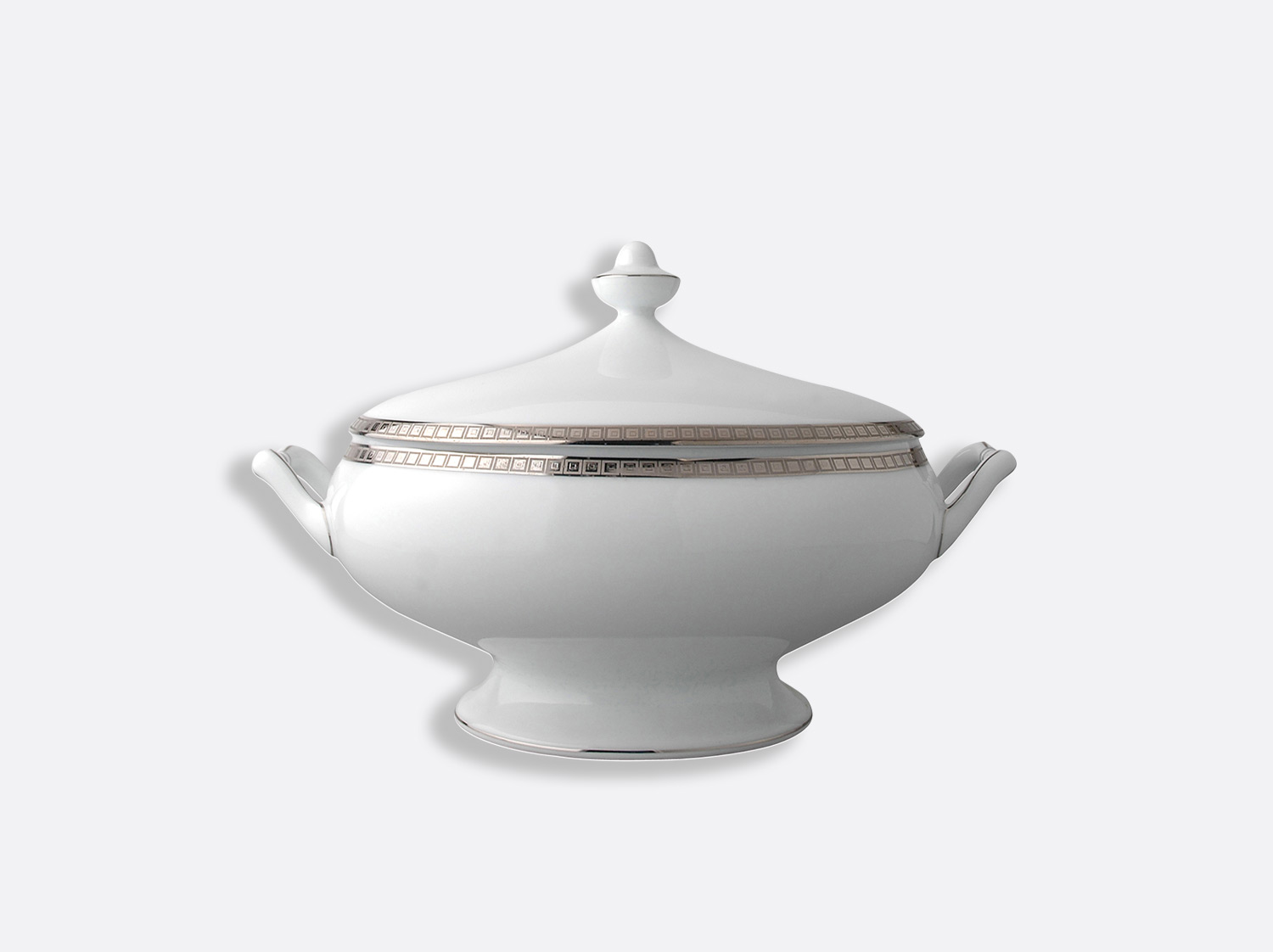 China Covered vegetable 1 l of the collection Athéna platinum | Bernardaud