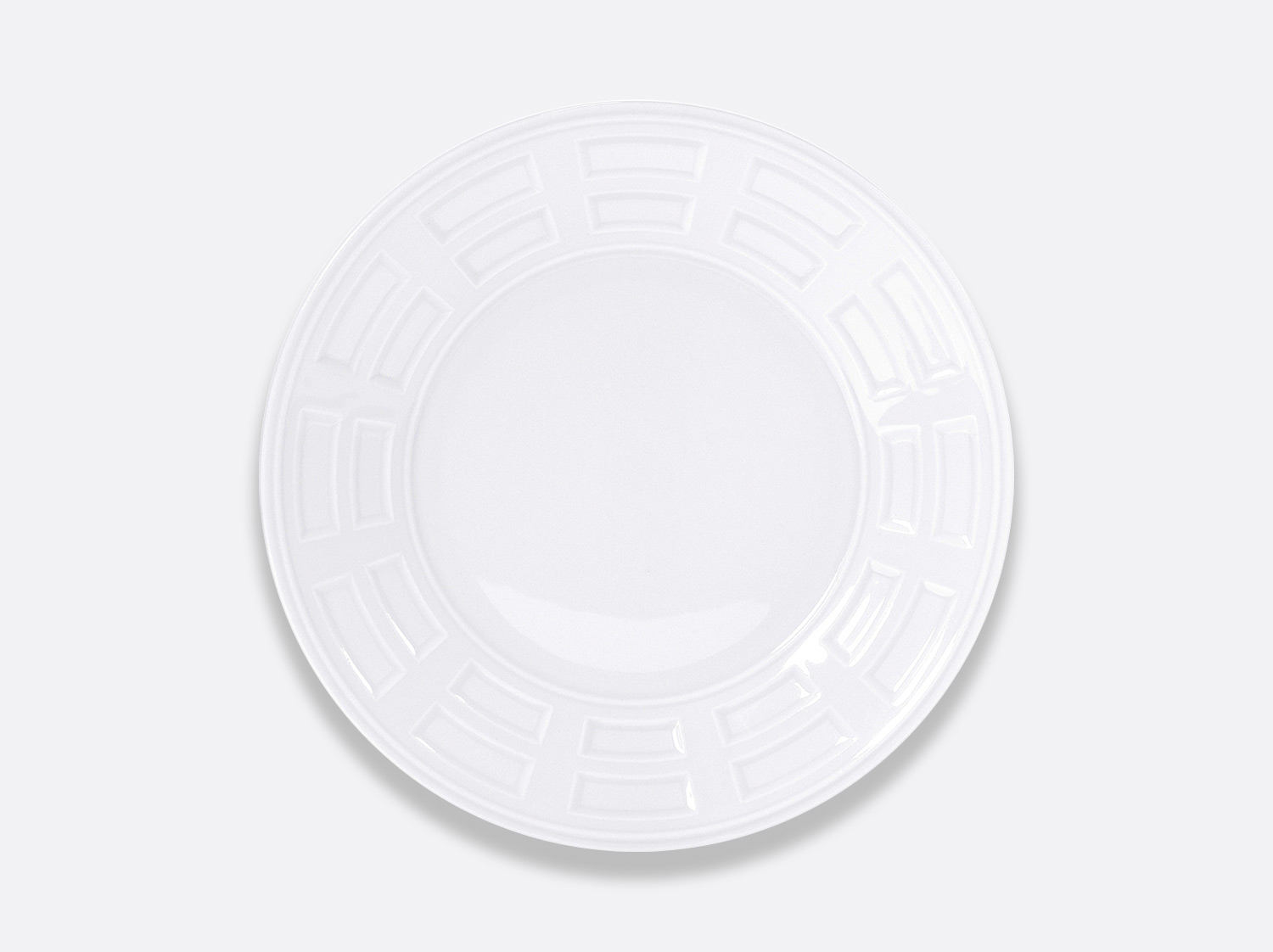 Assiette à dîner 26 cm en porcelaine de la collection Naxos Bernardaud
