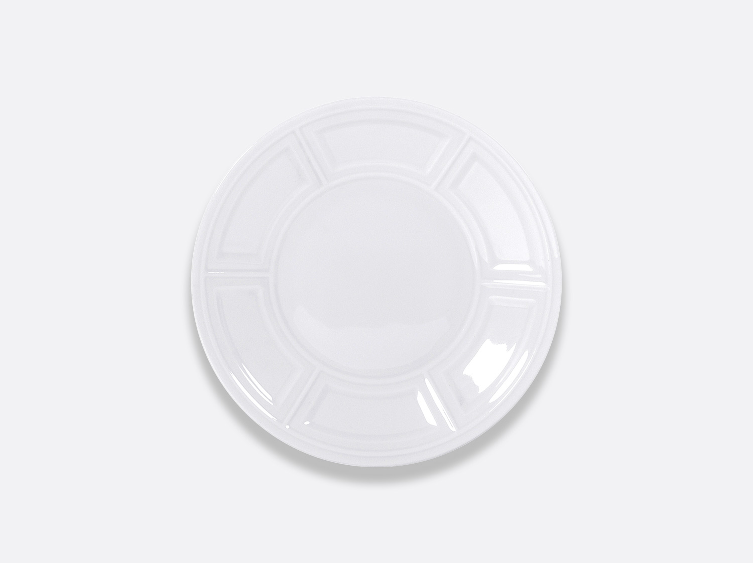 China Bread and butter plate 16 cm of the collection Naxos | Bernardaud