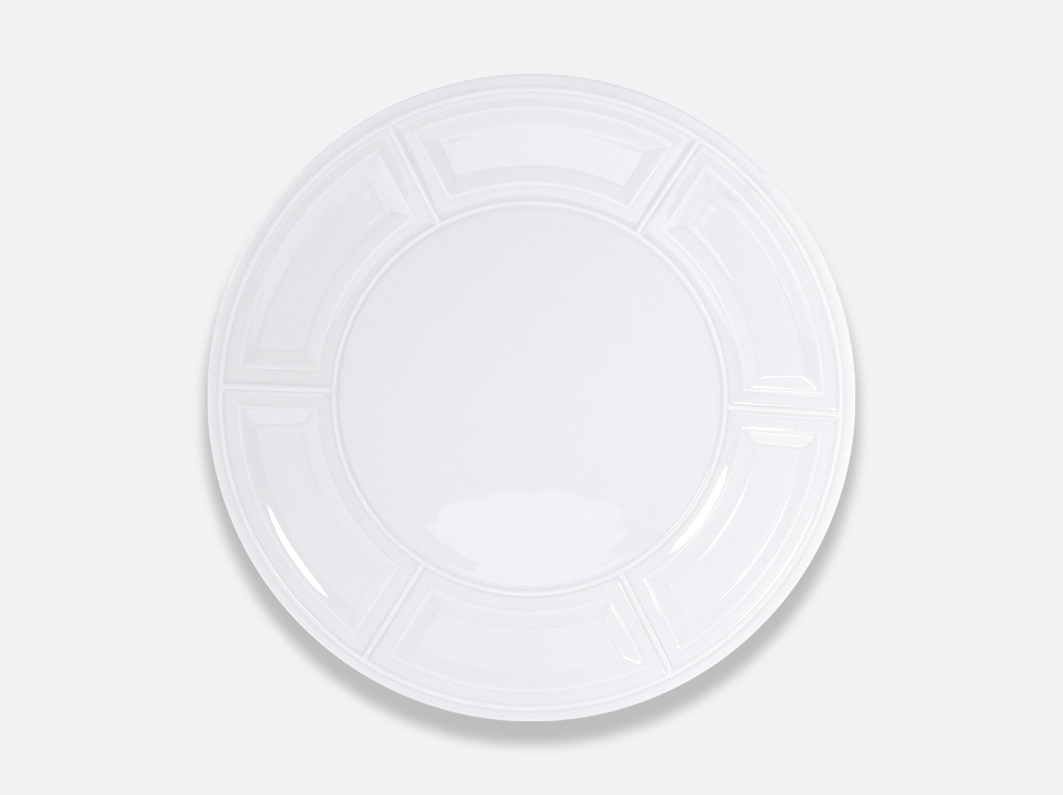 China Service plate 29,5 cm of the collection Naxos | Bernardaud