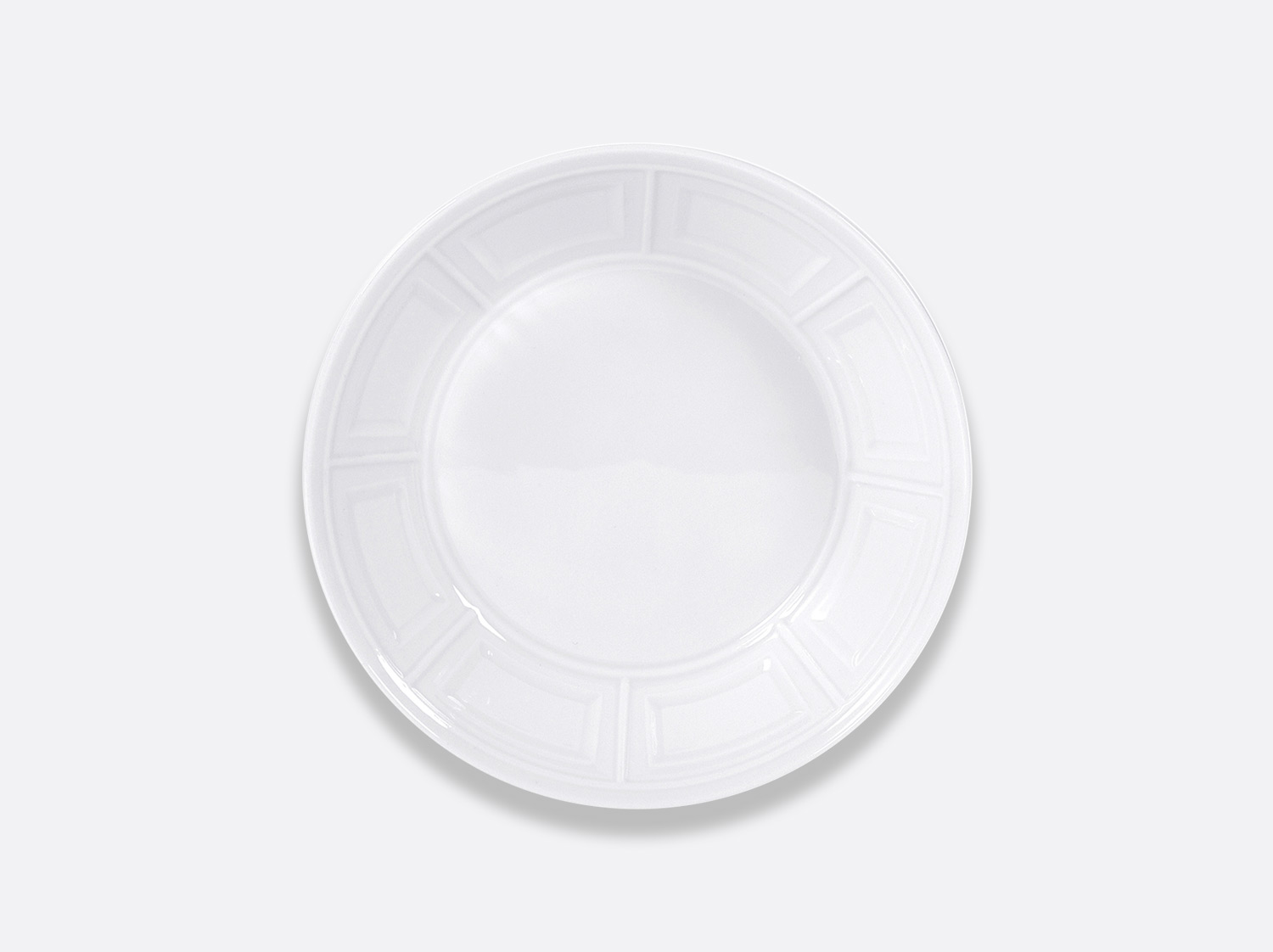 Assiette creuse 19 cm en porcelaine de la collection Naxos Bernardaud