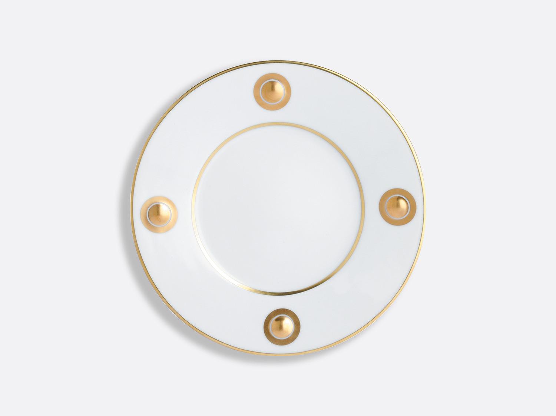Assiette à dessert or 21 cm en porcelaine de la collection Ithaque Bernardaud
